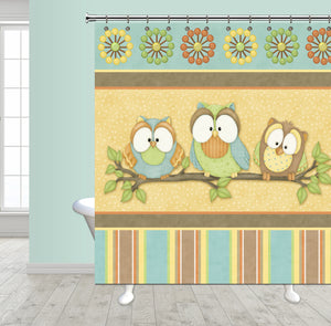 Who's Hoo Shower Curtain