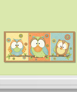 Who's Hoo Canvas Wall Art