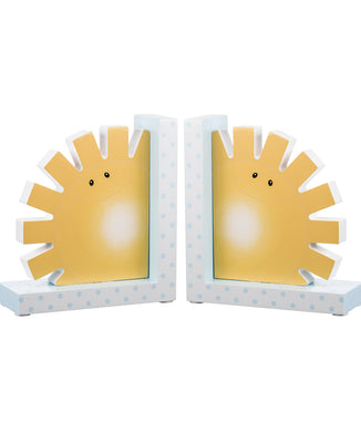 Noah's Pastel Pairs Sun Book End Set