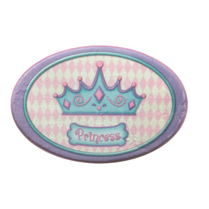 Princess Camryn Oval Crown Floor Mat