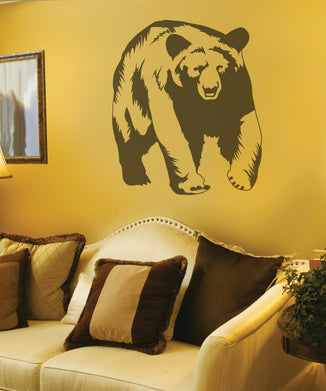 Bear Sudden Shadow Wall Decal