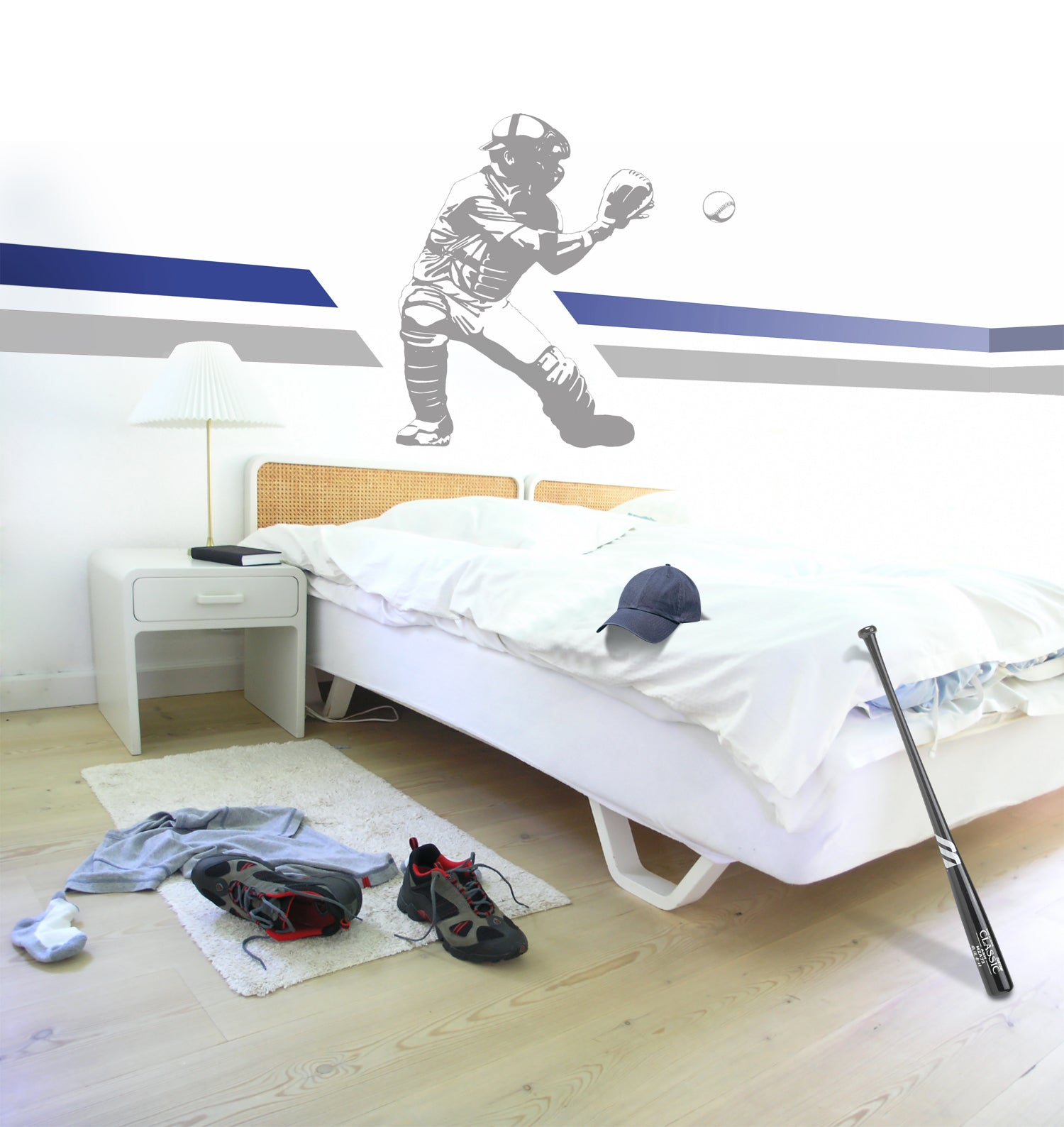 Catcher Sudden Shadow Wall Decal