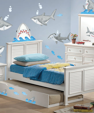 Fish 'n Sharks Wall Decal