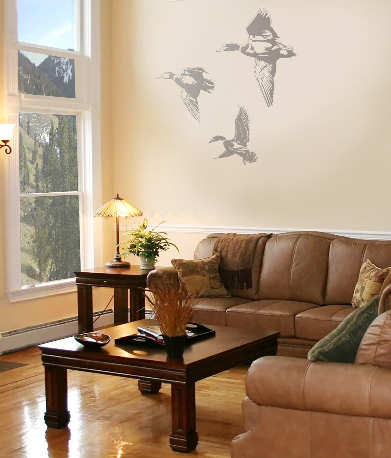 Duck Sudden Shadow Wall Decal