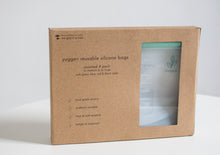 Load image into Gallery viewer, Reusable Silicone 'Ziplock' Bags  /  Pastels Bundle - Yuggen #Bethechange