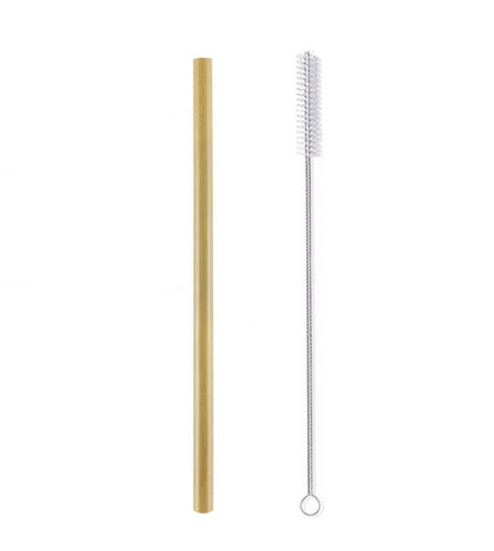 Single Bamboo Straw Set - Yuggen #Bethechange