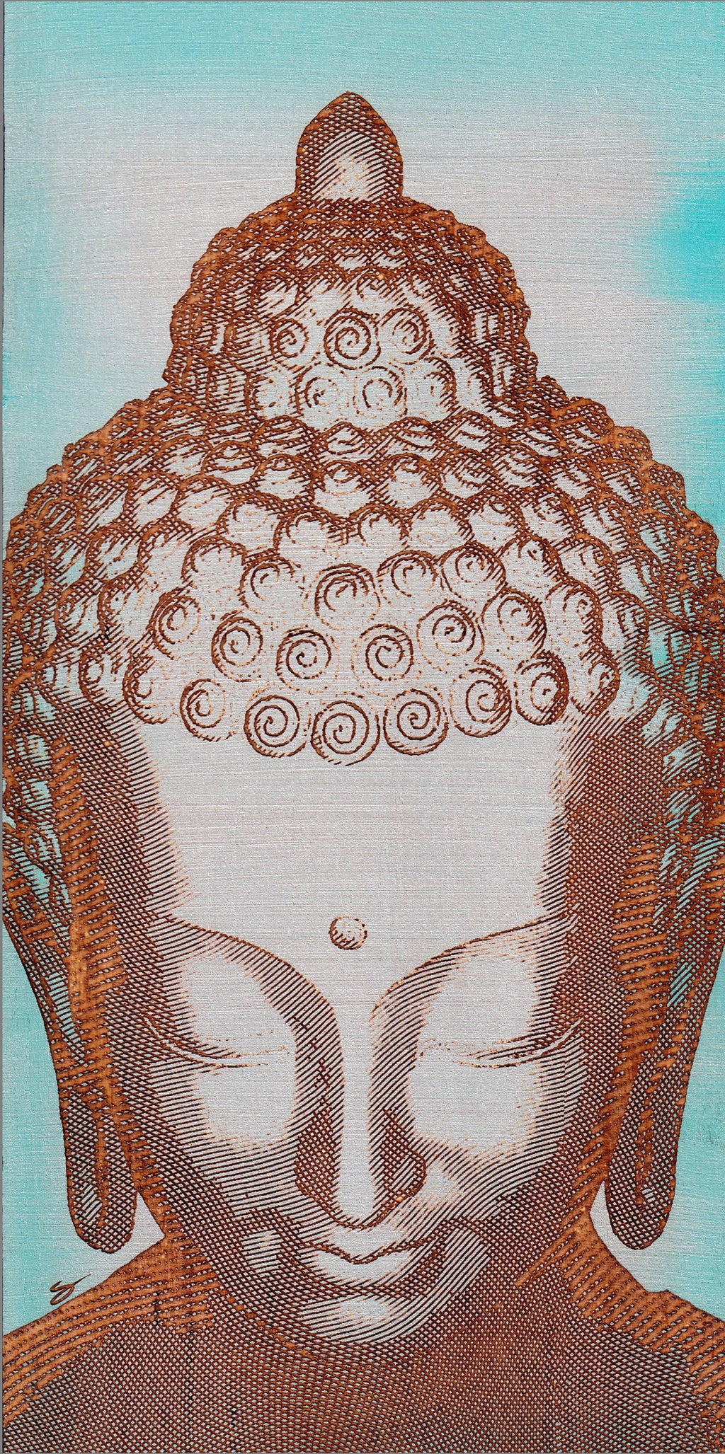 """Peaceful Buddha"""
