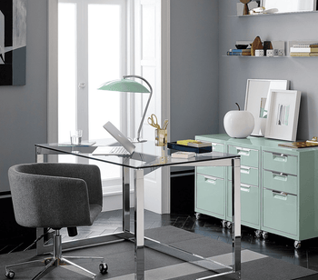 Your office should have only natural  materials