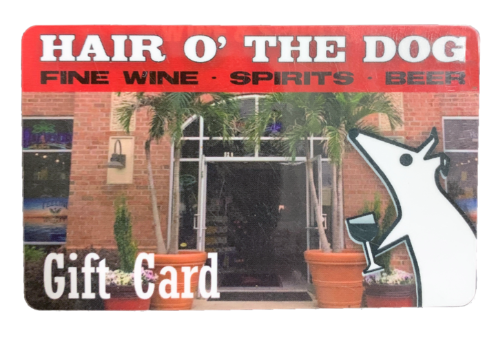 Hair O' the Dog Gift Card