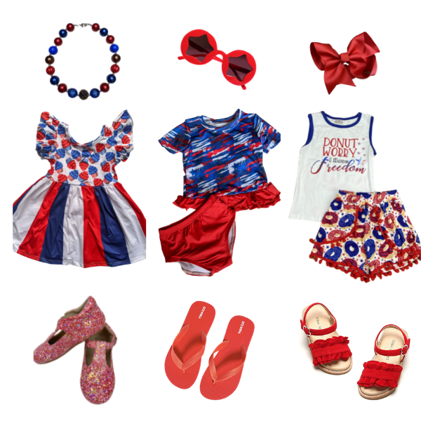 Girls July 4th Outfits