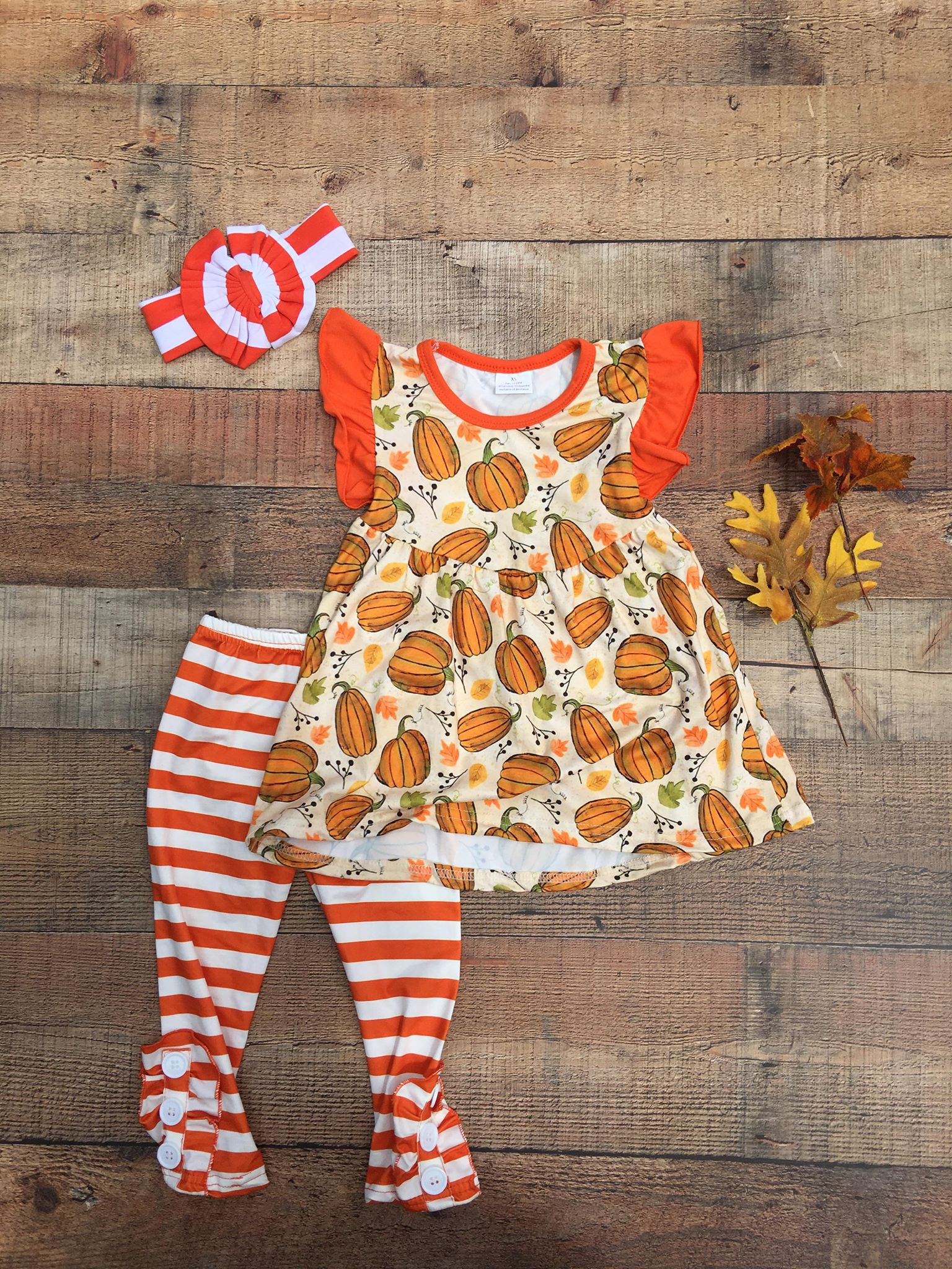 Flutter Pumpkin Set