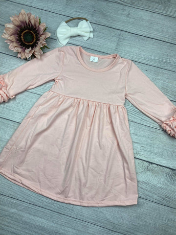 Solid Cotton Lap Dresses