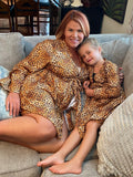 Mommy & Me Cheetah Robes