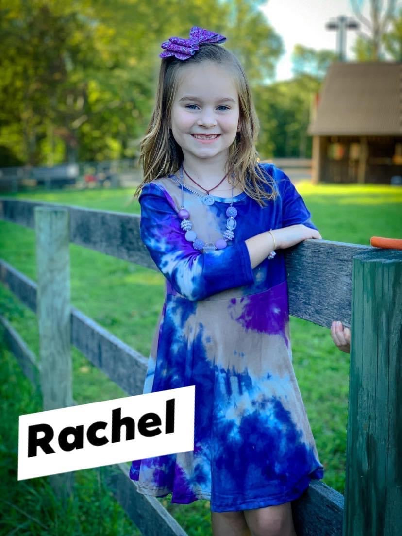 Rachel Tie Dye Twirl Dress