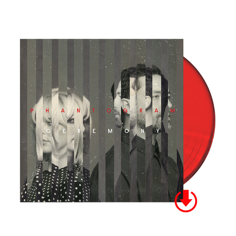 Ceremony Red LP + Digital Album