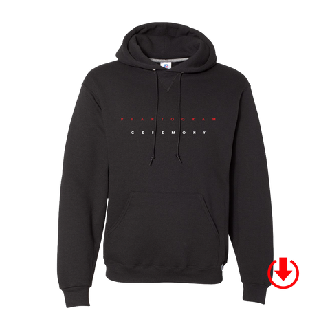 Ceremony Hoodie (Black) + Digital Album