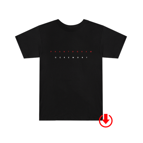 Ceremony T-Shirt (Black) + Digital Album