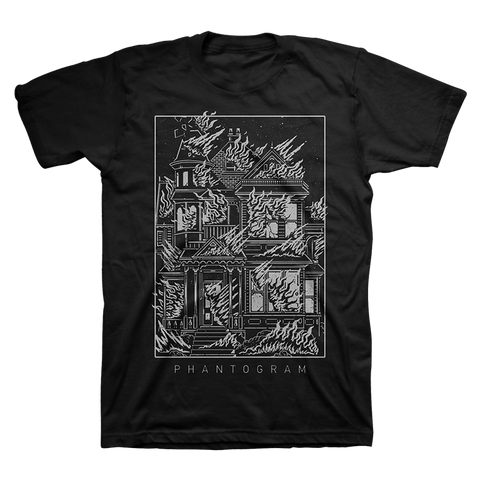 Burning House Tour T-Shirt