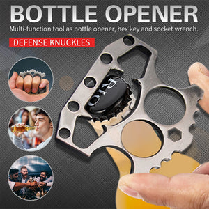Stainless Steel Beer Opener Bar Steel Knuckles