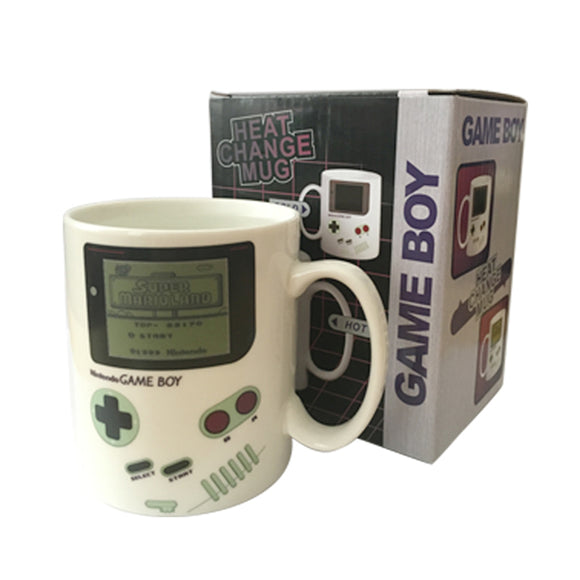 Heat Sensitive Nintendo Game Boy Mug