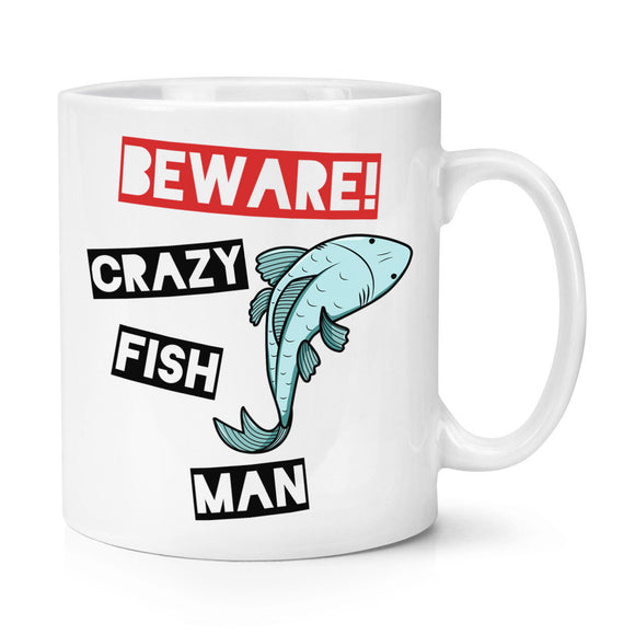 Crazy Fish Man Mug