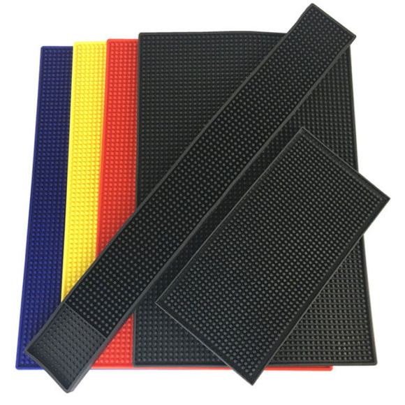 Rubber Bar Mat Drip Tray