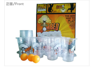 BOMBED!! Beer Pong Kit 22 Cups & 3 Balls