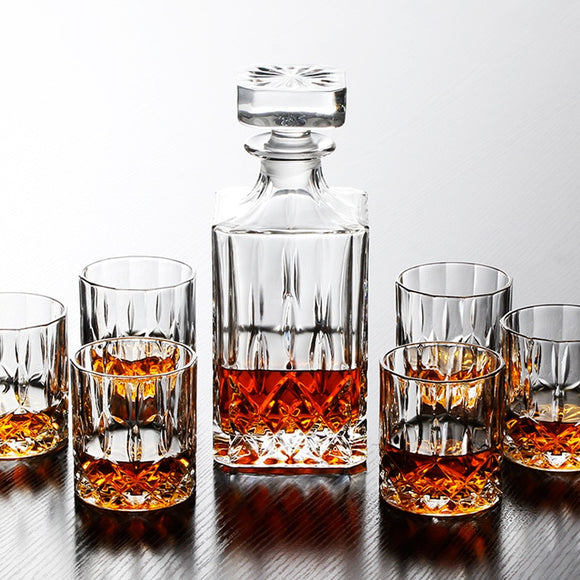 Top-grand Crystal Wine Cup Set