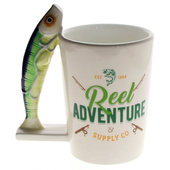 Novelty Sardines Fish Mug Fisher
