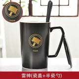 The Avengers Coffee Mugs With Spoon And Lids