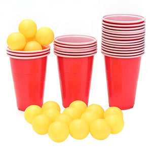 Beer Pong Kit 24Cups 24 Balls