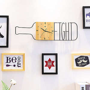 Wine BottleWall Clock