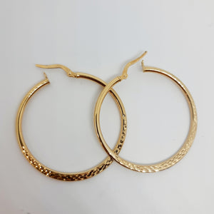 9ct Gold hoop