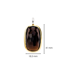 Load image into Gallery viewer, TI SENTO Milano Pendant Silver gold plated