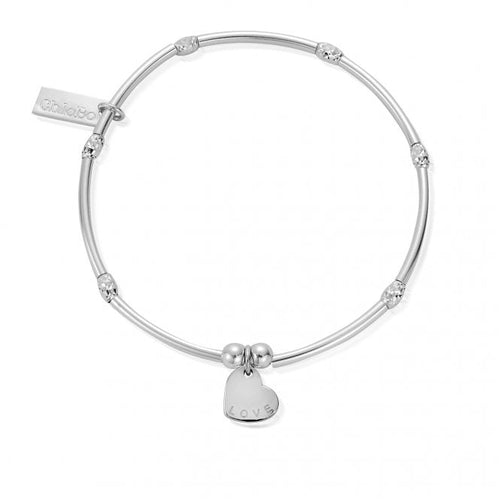Chlobo Mini Noodle Love Heart Bracelet