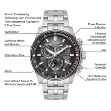 Load image into Gallery viewer, Citizen Gents Eco-Drive
