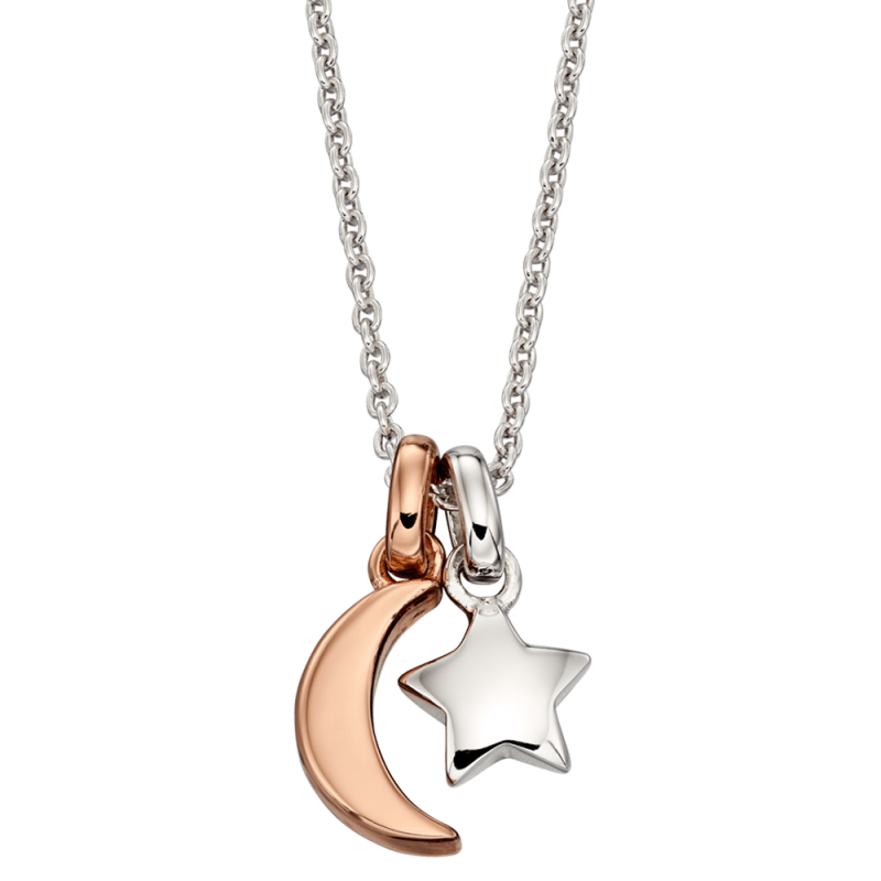 Collette Star & Moon Necklace