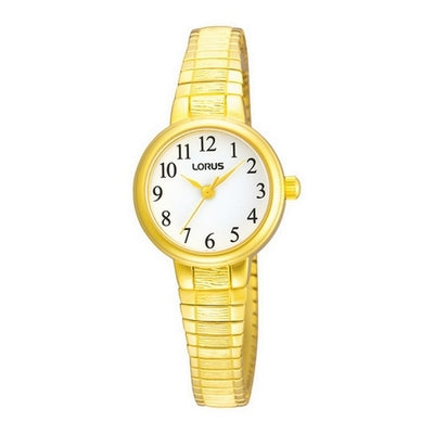 Lorus Ladies Gold Plated Round Shape Expander Watch