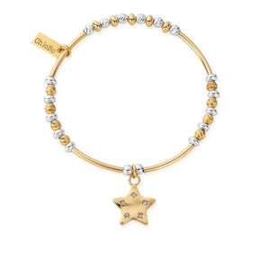 Chlobo Sparkle Star Bracelet. 2 colours
