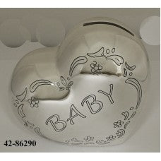 Baby Heart money box