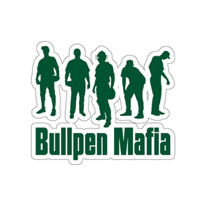 Bull Pen Mafia Sticker - Green Limited Edition - DD Bush League Mercantile (various sizes)