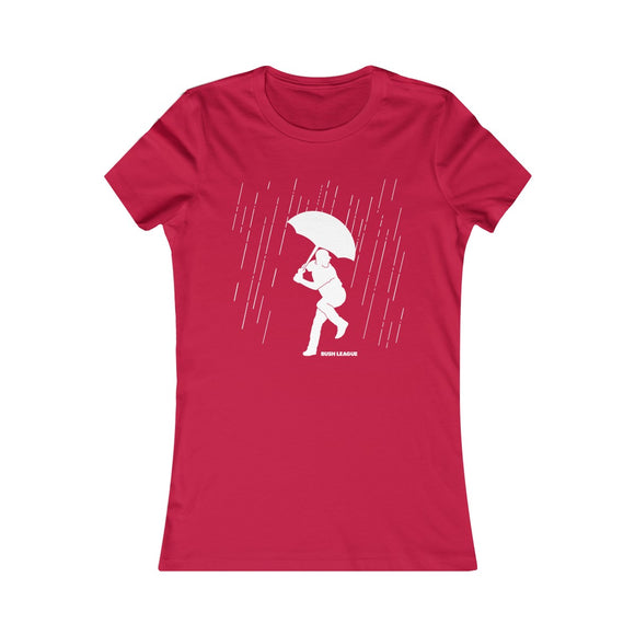 Ladies Rainmaker Tee (red)