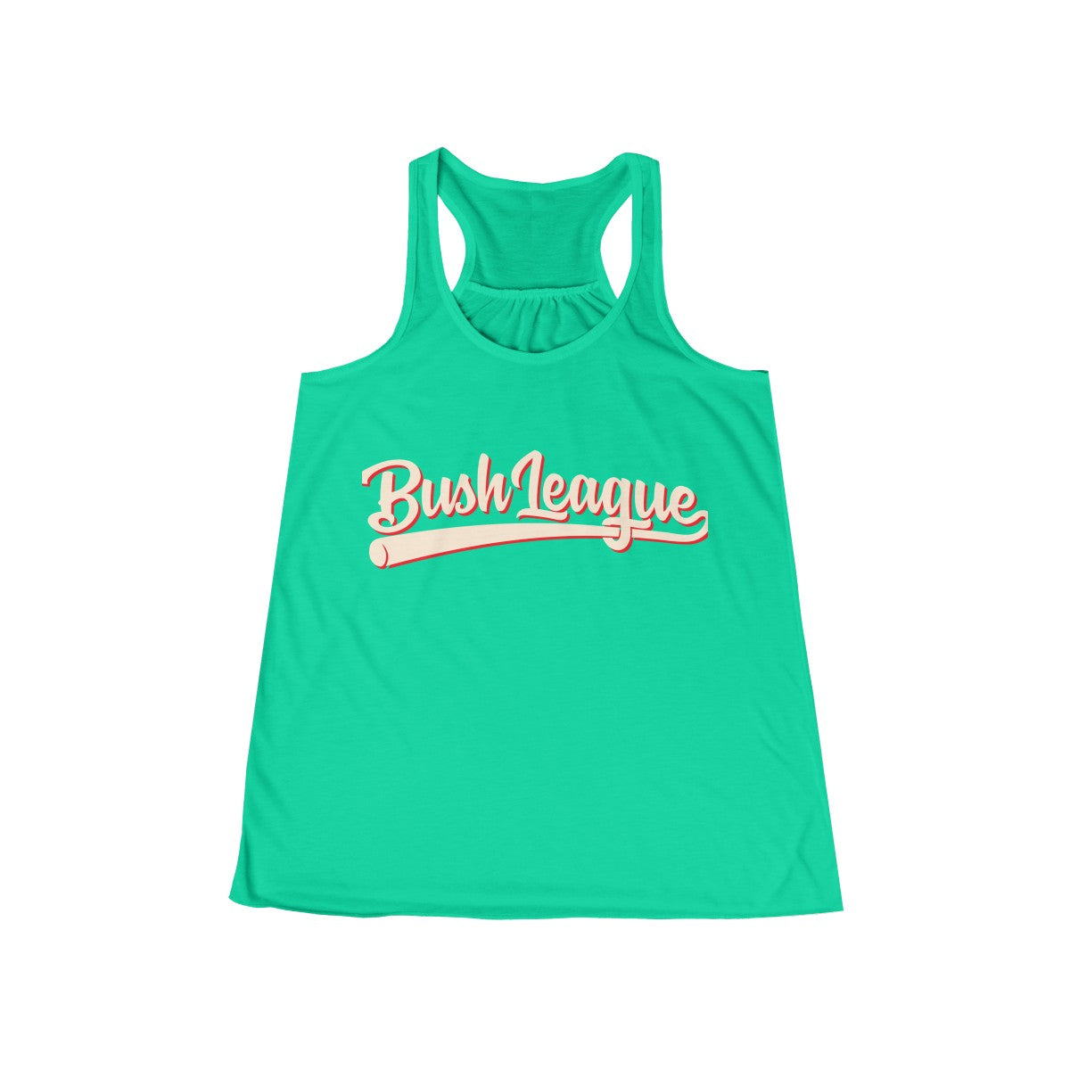Bush League Classic Logo Women's Flowy Racerback Tank