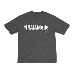 #NAIAMade Men's Heather Dri-Fit Tee