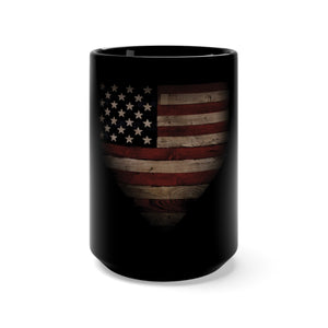 Barnwood Sports Design American Home Plate Coffee Mug