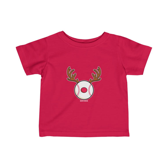 Toddler RedNoze Baseball Logo Tee
