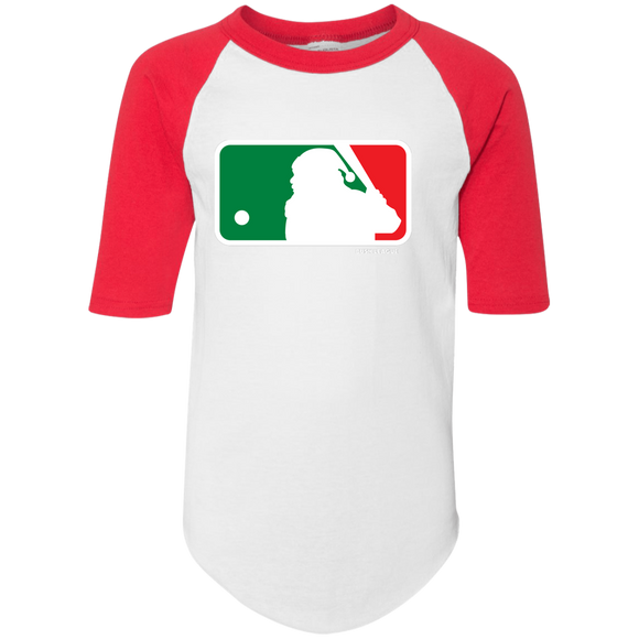 Youth Santa Shield Jersey Top