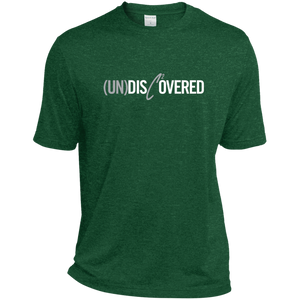 (UN)DISC2OVERED Heather Dri-Fit Moisture-Wicking T-Shirt