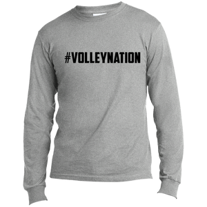 #VolleyNation (Black) Long Sleeve Tee