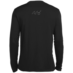 #BIGTEAMGUY SIgnature Tall Long Sleeve Moisture Absorbing T-Shirt